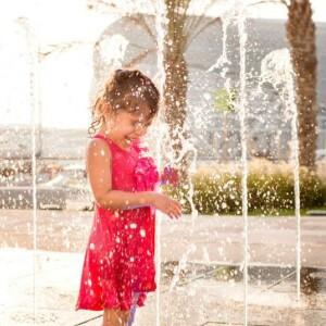 Yas Marina Musical Water Fountain 2