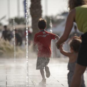 Yas Marina Musical Water Fountain 3