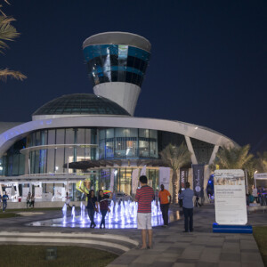 Yas Marina Musical Water Fountain 8