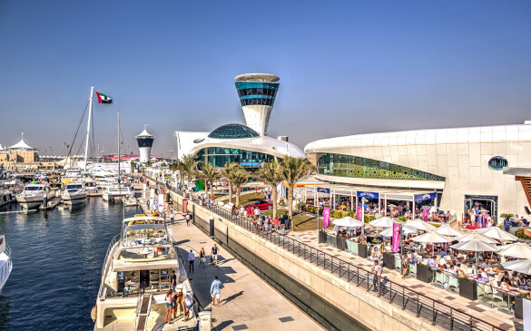 Explore Yas Marina Photos